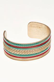 Detailed Cuff Bracelet