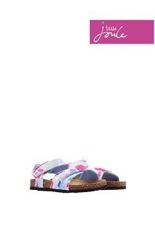 Joules Lily Pond Floral Tippytoes Sandal