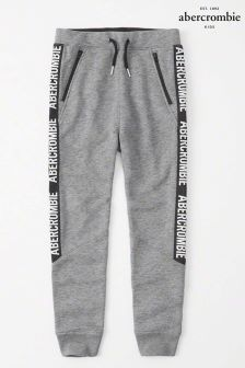Abercrombie & Fitch Grey Taped Jogger