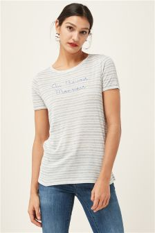 French Word Graphic Tee