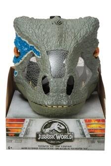Jurassic World Velociraptor Blue Chomp N Roar Mask