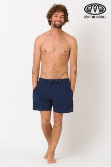 Animal Black Del Sur Elasticated Boardshort