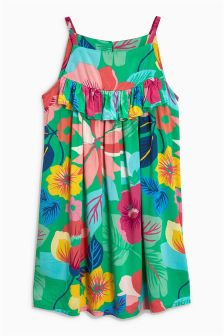 Printed Sun Dress (3-16yrs)