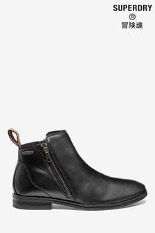Superdry Black Trenton Boots
