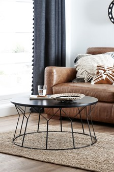 Modine Black Coffee Table