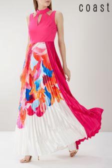 Coast Pink Maggie Print Maxi Dress