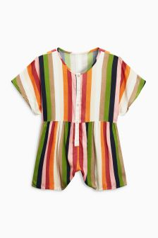 Stripe Playsuit (3-16yrs)