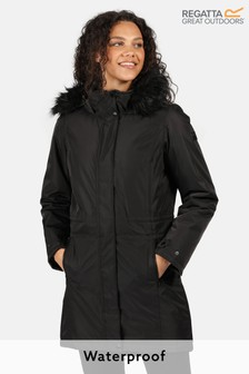 Regatta Black Lexis Waterproof Jacket