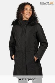 Regatta Black Lexis Waterproof Jacket