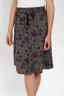 FatFace Steel Mina Jungle Floral Skirt