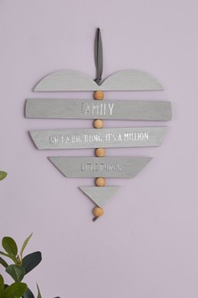 Family Heart Hanging Decoration