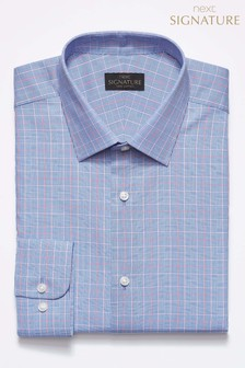 Signature Checked Regular Fit Shirt