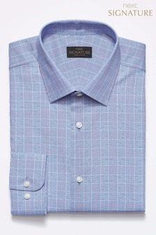 Chemise Signature à carreaux coupe standard