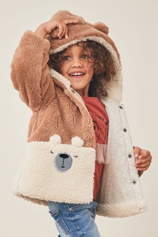 Bear Character Fleece Jacket (3mths-7yrs)