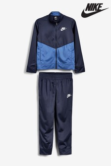 Nike Little Kids Navy Tracksuit