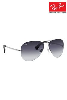 Ray-Ban® Black Gradient RB3449 Sunglasses