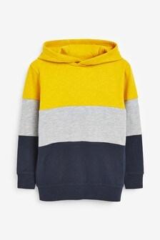 Long Sleeve Stripe Hoody T-Shirt (3-16yrs)