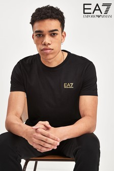 EA7 Black Core Logo T-Shirt
