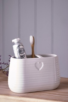 Heart Toothbrush Tidy