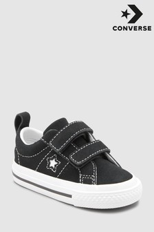 Converse Black Suede One Star Velcro
