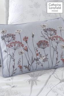 Catherine Lansfield White Meadowsweet Cushion