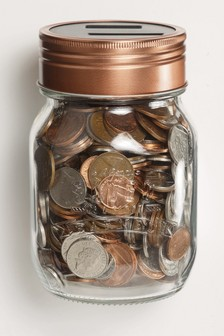 Automatic Counting Coin Jar