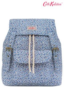 Cath Kidston® Blue Friend Flowers Junior Girls Backpack