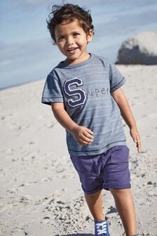 Super T-Shirt And Shorts Set (3mths-6yrs)