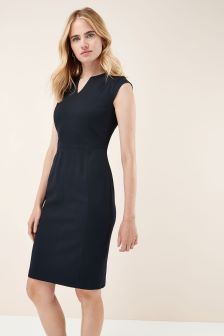 Panelled Workwear Dress