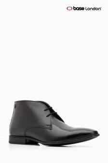 Base London® Black Foyle Lace Up Chukka Boot