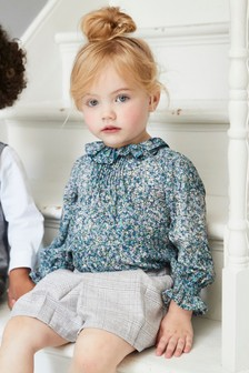 Ditsy Collar Blouse (3mths-6yrs)