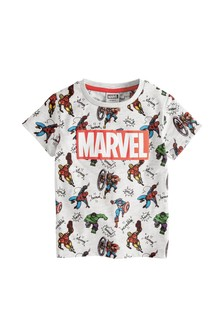 Marvel All Over Print T-Shirt (12mths-8yrs)