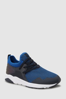 Elastic Lace Trainers (Older)
