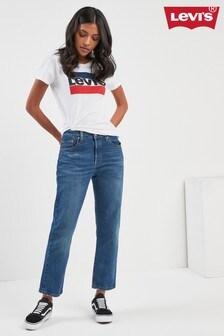 Levi's® 501® Indigo Wash Rebel Crop Jean