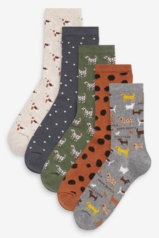 Ankle Socks Five Pack