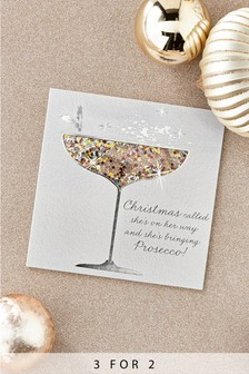 Buy greeting cards greetingcards from the next uk online shop 6 pack prosecco shaker cards m4hsunfo