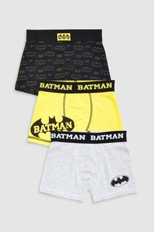 Batman® Trunks Three Pack (2-10yrs)