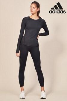 Черная спортивная футболка adidas AlphaSkin