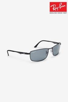 Ray-Ban® Black Metal Sunglasses