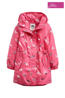 Joules Golightly Longline Rain Jacket