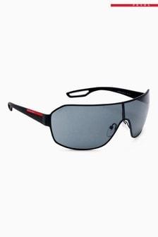 Солнцезащитные очки-маска Prada