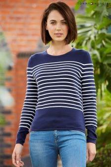 Tommy Hilfiger Blue Paila Stripe Sweater