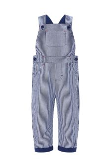 Monsoon Blue Monsoon Tommy Ticking Stripe Dungaree