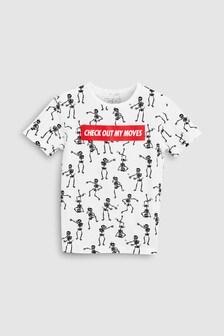 All Over Print Skeleton T-Shirt (3-16yrs)