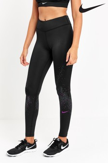 Nike Flash Black Fast Running Leggings