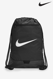 Nike Brasilia Black Gym Sack