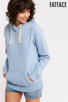 FatFace Blue Heritage Overhead Hoody