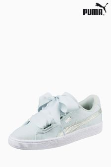 Puma® Basket Heart Canvas