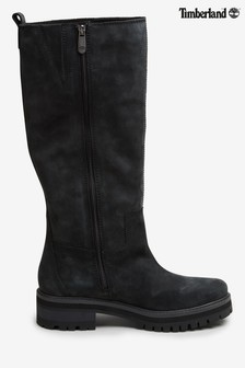 Timberland® Black Courmayeur Valley Tall Boots