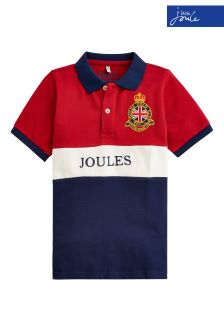Joules Red Harry Polo